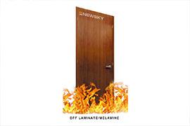 Cửa gỗ chậm cháy Laminate/Melamine